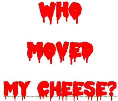 Who moved my cheese book summary